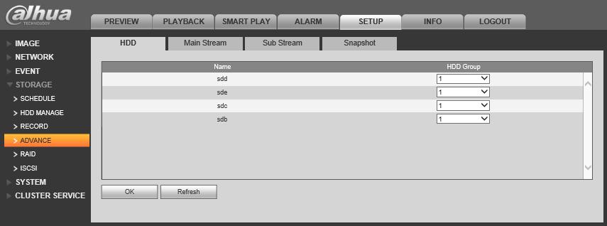 NVR/Recording Setup/RAID Hotspare - Dahua Wiki